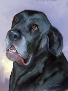 Painting of Neo Mastiff