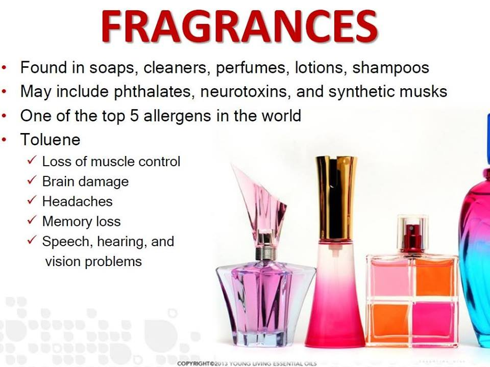 Toxic fragrances